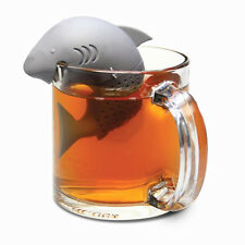 Cool Silicone Shark Infuser Loose Tea Leaf Strainer Herbal Spice Filter Diffuser