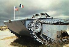 WW2 - CP - Vestige de blindé US à Utah Beach