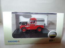 Oxford 76LAN188012 LAN188012 1/76 OO Landrover Land Rover Fire Brigade Appliance