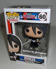 RUKIA BLEACH ANIME FUNKO POP VINYL FIGURE BRAND NEW IN BOX