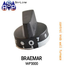 NEW CONTROL KNOB TO SUIT BRAEMAR WF2000 WALL FURNACE ONLY
