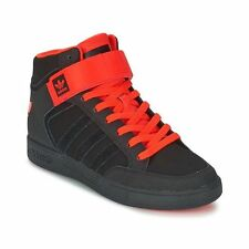 NIB Men's adidas Originals Varial 2.0 Mid Skateboarding Shoes Black/Orange 9