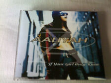 AALIYAH - IF YOUR GIRL ONLY KNEW - R&B CD SINGLE