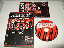 Amen Caught In The Act dvd region 0 pal torn booklet 2004