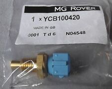 Genuine Rover 200 400 25 45 75 MG F TF Coolant Temperature Sensor YCB100420
