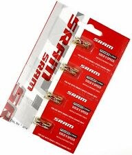 4 (Four) Pack SRAM 9-Speed Gold PowerLink Bicycle Chain / Master Links