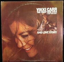 Vikki Carr - The First Time Ever ( I Saw Your Face) and Love Story - VG+ 2X LPs