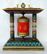Hand Painted Prayer Wheel  COMBINED SHIPPING AVAILABLE