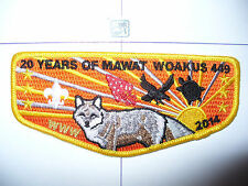 OA Mawat Woakus 449, 2014, 20th Ann Lodge Flap,238,382,Black Swamp Cl,Findlay,OH