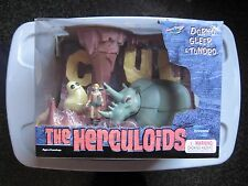 RARE 2003 TOYNAMI HANNA-BARBERA THE HERCULOIDS DORNO GLEEP TUNDRO FIGURE SET MIB