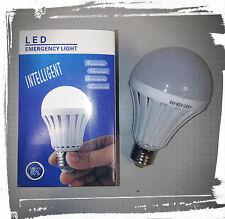Lampada emergenza LED 9W E27 Bianco freddo 6000k