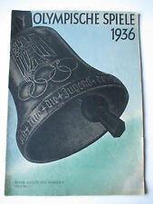 Official magazine 1936 Berlin Olympic Games Olympische Spiele 1936 No.3