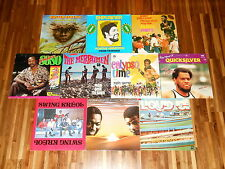 Calypso - Soca - Zouk - SAMMLUNG - 10 LPs - Mighty Sparrow - Explainer - Swallow