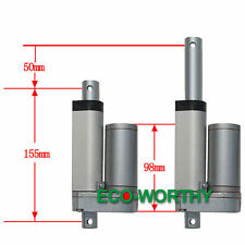 "2"" 12V 900N 10mm/s Electric Linear Actuator Stroke Heavy Duty DIY for Car Camera"