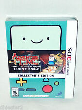 ADVENTURE TIME: EXPLORE THE DUNGEON BECAUSE I DON'T KNOW! 3DS COLLECTORS EDITION