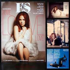 JUNO TEMPLE MIRANDA HART & HANNAH HORVATH STEPHEN MERCHANT ES MAGAZINE FEB 2013