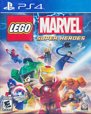 LEGO Marvel Super Heroes - Sony PS4 Game - Brand New & Sealed
