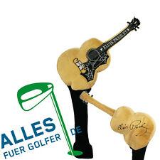 Schlägerhaube Elvis Presley Gitarre, auch für oversized Driver geeignet