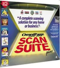 OmniPage Pro 10 Scan Suite Plus PC CD PhotoSuite PageKeeper Post-it scanner tool