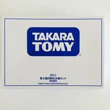 Takara Tomy Tomica 2011 Shareholder Limited Edition Transformers & Pokemon Q
