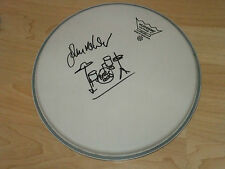 JOHN MAHER BUZZCOCKS SIGNED DRUMHEAD