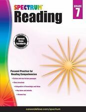 Spectrum: Spectrum Reading, Grade 7 (2014, Paperback, Workbook)