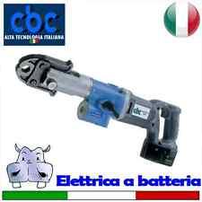 Pressatrice elettrica portatile a batteria con pinze di tipo TH1 Ø 16-18-20 –...