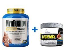 Gaspari Myofusion Protein 2LB VANILLA+ Legend Preworkout | Whey | C4 | The One