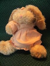 "Walton Baby Plush Cream pink  Bunny Rabbit Soft Cuddly Hug Toy 8"" approx prelove"