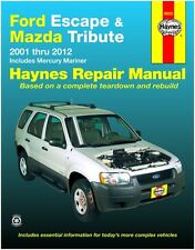 BRAND NEW !!  HAYNES REPAIR MANUAL # 36022 FORD ESCAPE AND MAZDA TRIBUTE '01-'11