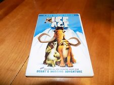 ICE AGE Special Edition Widescreen Full Childrens Classic Movie 2 Disc DVD SET