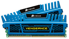 Corsair Vengeance Blue 8 GB 2X4 GB PC3-12800 1600mHz DDR3 240-Pin SDRAM Dual Kit