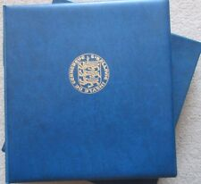 Guernsey Collection in Lindner Printed Hingeless Album 1969-85 Complete.