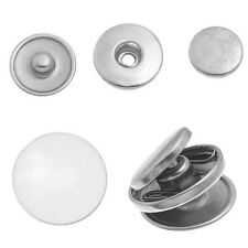 10 Sets Snap Buttons Fit Snap Charm Jewelry Mixed 19mm And 18mm