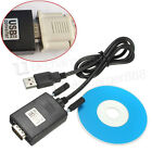 USB 2.0 to Serial RS232 DB 9 PIN Adapter Converter Cable For GPS Windows XP 7/8