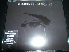 Michael Jackson Cry Rare Australian 4 Track Enhanced CD Single