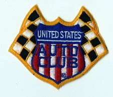 USAC -  United States Auto Club Official Patch - Vintage NOS