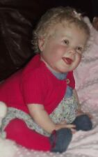 BIG REBORN BABY GIRL SMILING KENZIE by DONNA RUBERT~LITTLE BLOSSOMS NURSERY
