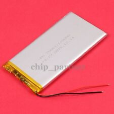 3.7V 8000mAh Lipo Polymer Battery 7565121 W/ PCM Rechargeable 7.5*65*121mm