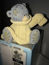 "LARGE 7cm 3"" HIGH BOXED ME TO YOU FIGURINE TATTY TEDDY BEAR ~ PERFECT FIT"
