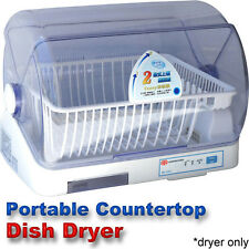 Compact Portable Dish Dryer - Tabletop Small Apartment Mini CountertopDishdryer