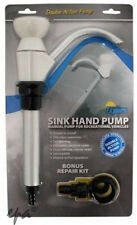 HAND WATER PUMP RV CARAVAN CAMPER BOATS EXPLORER KITCHEN SINK WHITE  RVHP
