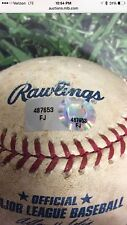 Marco Estrada FIRST MLB Ball. How Rare is this?! Blue Jays FJ487653 MLB Holo COA