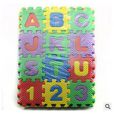 36Pc Cute Interesting Baby Toys Alphabet&Numeral Foam Mats Puzzle Game Pads