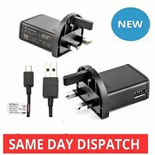 GENUINE SONY MICRO USB  MAINS CHARGER For XPERIA Z Z1 Z2 Z3 P U S J T ULTRA