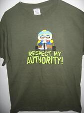 South Park Eric Cartman Respect My Authority  Adult Medium T-Shirt