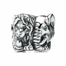 New Authentic Pandora Charm 791360 Safari Animal Kingdom Bead Box Included