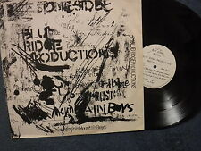 """BLUE RIDGE PRODUCTIONS Present"" 12"" EP in Pic Slv - Blue Ridge Records BLUE001"