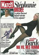 Couverture magazine,Coverage Paris Match 26/09/96 Brigitte Bardot