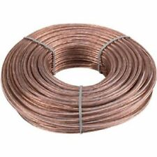 16 Gauge 50 Feet 2 Conductor Stranded Speaker Wire For Car or Home Audio 50ft